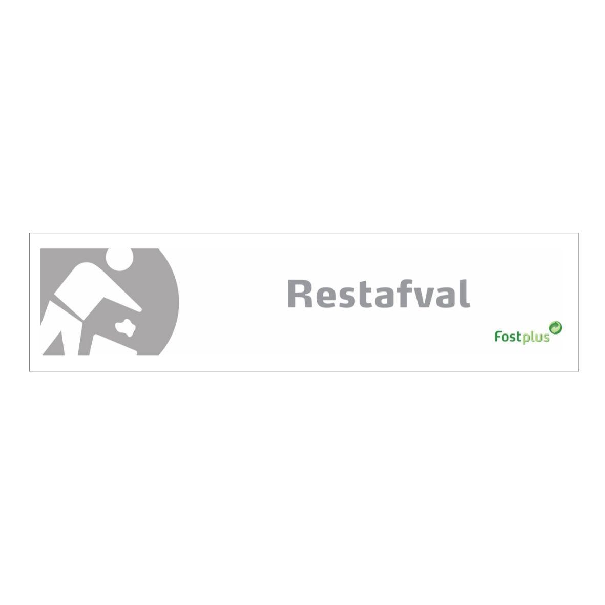 Rest Sticker 20x4 V1